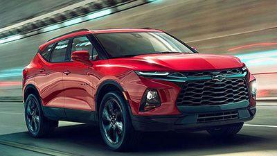 'Soi' chi tiết Chevrolet Blazer 2019 giá 699 triệu đồng