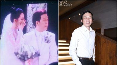 Hoài Linh hát tặng đám cưới Trường Giang - Nhã Phương ca khúc đặc biệt