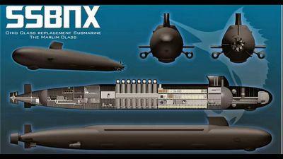 Mỹ vung tiền chế tạo 12 tàu ngầm mang tên lửa hạt nhân tương lai Colombia