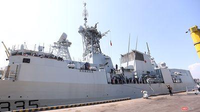Xem sức mạnh của đội tàu Hải quân Canada tại Đà Nẵng