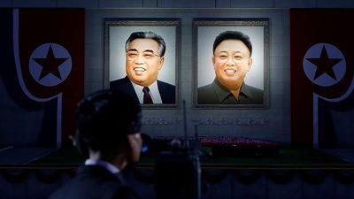 Hình ảnh các cố lãnh tụ Triều Tiên hiện diện khắp nơi tại nước này