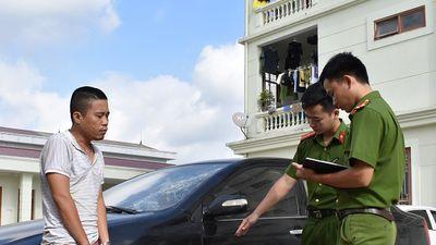 Ngang nhiên lái ô tô trộm cắp đi các tỉnh gây án