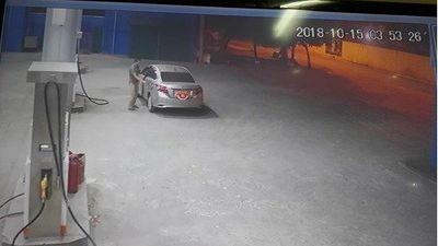 Vụ thanh niên đi ô tô đổ xăng rồi quỵt tiền: 'Anh ta rất lịch sự nên tôi không nghi ngờ'