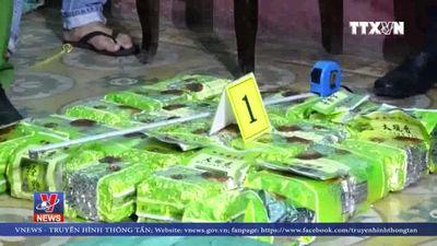 Quảng Bình khen thưởng vụ bắt hơn 300kg ma túy đá