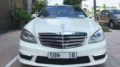 Chi tiết xe sang Mercedes S550 bán chỉ 980 triệu ở Hà Nội