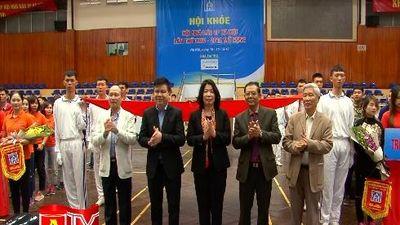 Khai mạc Hội khỏe Hội nhà báo TP Hà Nội mở rộng lần thứ 24