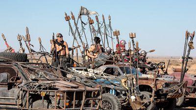 Dàn xế hộp độ quái dị tại lễ hội Wasteland Weeked 2018