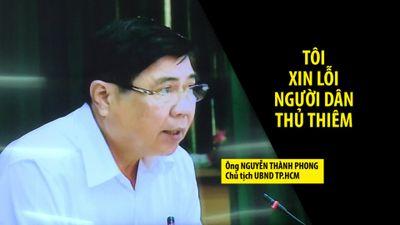 Chủ tịch TP.HCM: 'Tận đáy lòng mình, tôi chân thành xin lỗi người dân Thủ Thiêm'