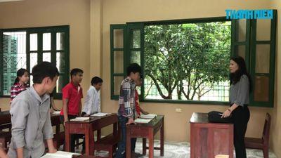 Cô giáo dành cả tuổi thanh xuân để dạy trẻ khuyết tật ở Yên Bái