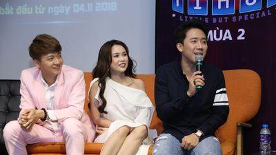 Trấn Thành diện trang phục giản đi ra mắt 'Biệt Tài Tí Hon' mùa 2