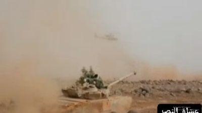 'Hổ Syria' diễn tập chiến đấu trên chiến trường Idlib