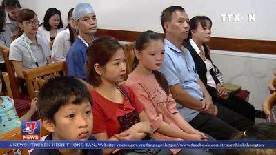 Phẫu thuật miễn phí cho trẻ dị tật bẩm sinh