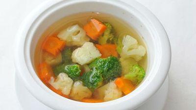 Cách làm súp rau củ, súp chay ngon thơm, nhìn là muốn ăn