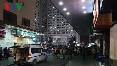 Tin mới nhất vụ thi thể trẻ sơ sinh tại sân chung cư Linh Đàm