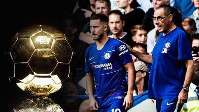 Sarri hứa hẹn giúp Hazard giành Quả bóng vàng