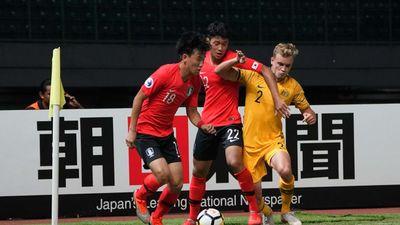 U19 Hàn Quốc thủ hòa U19 Australia, U19 Việt Nam dễ bị loại