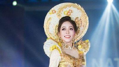 Phương Nga lọt top 5 Trang phục dân tộc tại 'Hoa hậu Hòa bình Quốc té 2018'