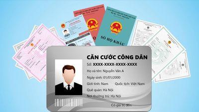 Thẻ căn cước, số định danh giúp thay thế bao nhiêu loại giấy tờ?