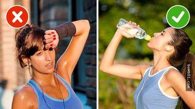 Thói quen khi tập thể dục khiến bạn không thể giảm cân