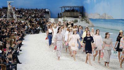 Show thời trang đầy cảm hứng của nhà mốt Chanel gây sốc