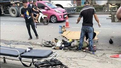 Hải Phòng: Va chạm với xe bồn, người đàn ông tử vong tại chỗ