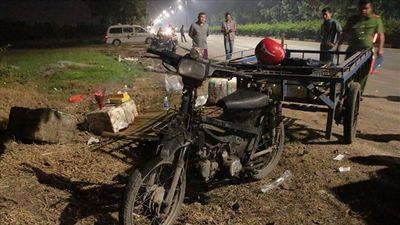 Chạy xe lôi không biển số xảy ra tai nạn với ô tô khiến người đàn ông tử vong