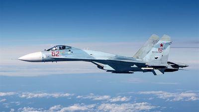 Tiêm kích mạnh ngang Su-35 ở Syria: Uy lực nhân đôi