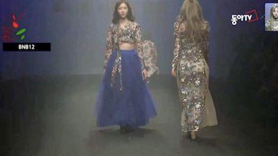 Áo dài Việt xuất hiện tại Tuần lễ thời trang Seoul 2018