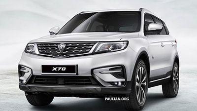 SUV 5 chỗ, giá rẻ - Proton X70 2018 của Malaysia có gì?