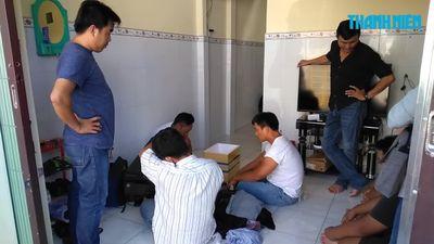 Bắt nhóm thanh niên từ Hải Phòng vào Tiền Giang hoạt động cho vay nặng lãi