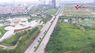 Thênh thang con đường rộng 60m, 10 làn xe ở Thủ đô