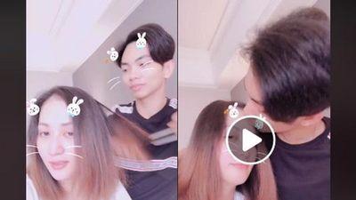 Tự nhận là osin cao cấp của vợ, Phan Hiển khiến fan 'rụng tim' khi cưng chiều hôn Khánh Thi say đắm