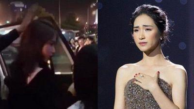 Bị chỉ trích vì thái độ ngôi sao, Hòa Minzy chắp tay van nài cư dân mạng