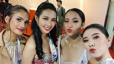 Thùy Tiên xuất sắc ghi 3 'bàn thắng' tại Hoa hậu Quốc tế 2018
