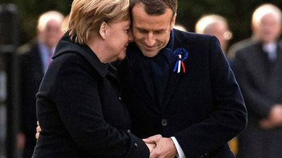 Bà cụ 101 tuổi nhận nhầm Thủ tướng Đức là đệ nhất phu nhân Pháp