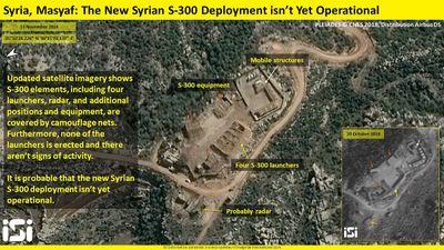 Hệ thống phòng thủ S-300 tại Syria vẫn chưa hoạt động
