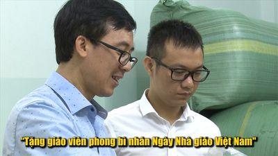 Gặp thầy giáo đang gây bão mạng vì kêu gọi phụ huynh hãy tặng 'phong bì' ngày 20.11