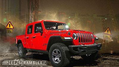 Bán tải Jeep Gladiator 2020 có gì để cạnh tranh Ford Ranger?
