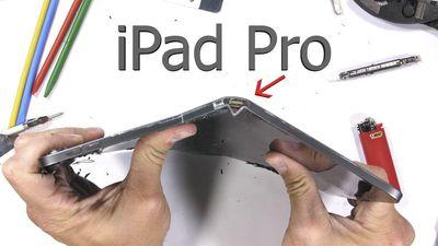 Thử độ bền iPad Pro mới: Giá trên trời nhưng mong manh dễ vỡ vô cùng!