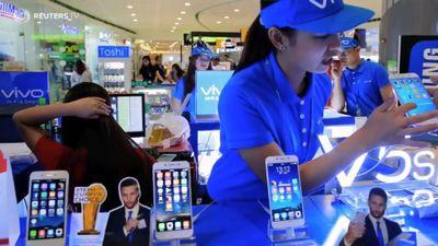 iPhone bị điện thoại Trung Quốc giá tầm trung đe dọa