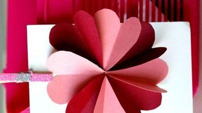 Cách làm thiệp 20/11 trái tim ý nghĩa dành tặng thầy cô