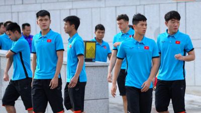 Buổi sáng đầu tiên của tuyển Việt Nam trên đất Myanmar