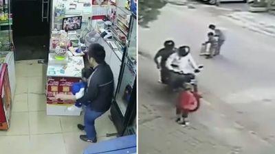 Clip những pha bắt cóc trẻ em táo tợn ở Trung Quốc