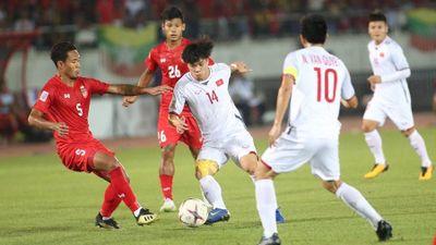 Myanmar 0-0 Việt Nam: Trọng tài mắc lỗi, Văn Toàn, Anh Đức tiếc nuối