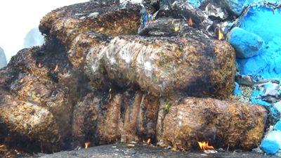 Tiêu hủy gần 1 tấn khô gà không rõ nguồn gốc