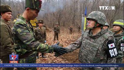 Hai miền Triều Tiên thông đường qua khu phi quân sự