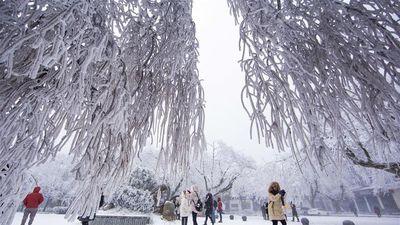 Bắc Kinh trải qua tiết Đại Tuyết lạnh nhất 70 năm