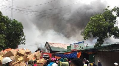 Bộ Công an vào cuộc điều tra vụ cháy kho hàng ở chợ Vinh