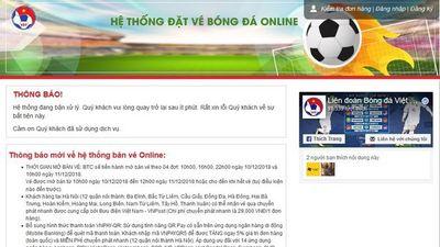 Mua vé bóng đá online: Rất tiếc quý khách chưa may mắn lần này