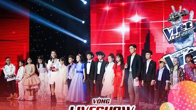 Liveshow 4: Top thí sinh xuất sắc The Voice Kids lại trình diễn 'một màu'
